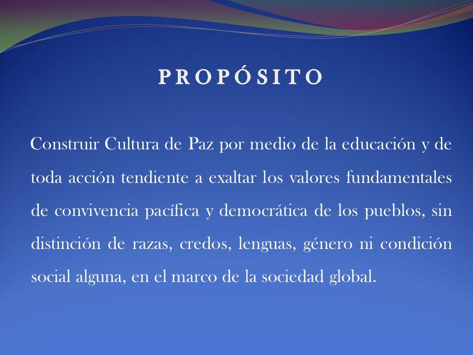 CONTEXTO El Foro se visualiza en un contexto de estudio y discusión permanente de temas transversales relacionados con la educación para la Paz.