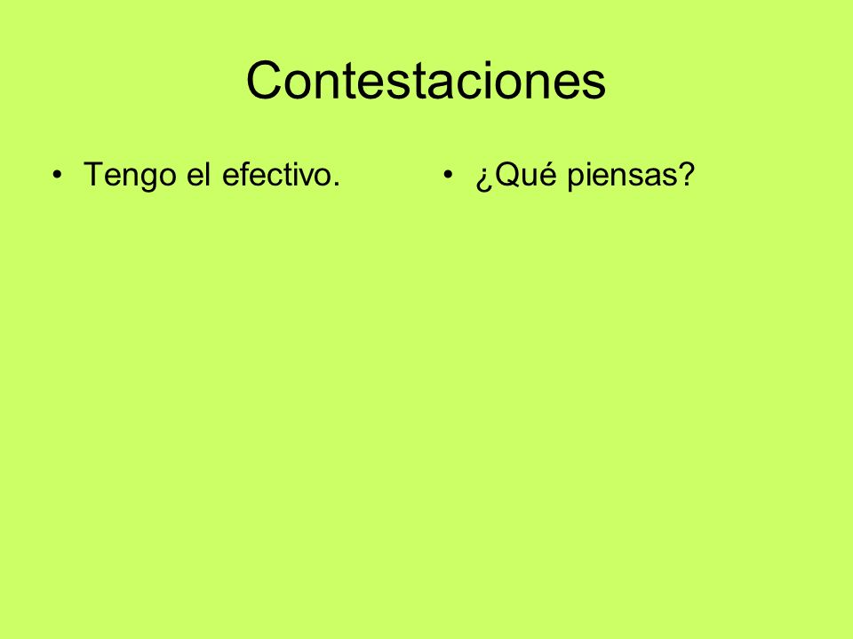 Multiplica por _______ Write down all the forms of to be able in the present tense.