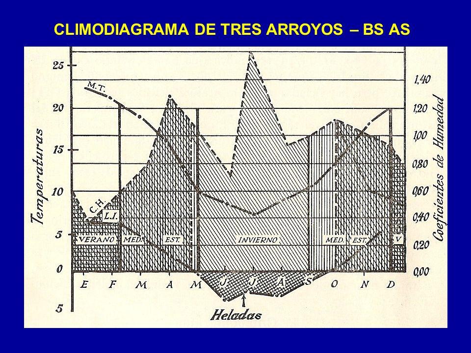 CLIMODIAGRAMA DE TRES ARROYOS – BS AS