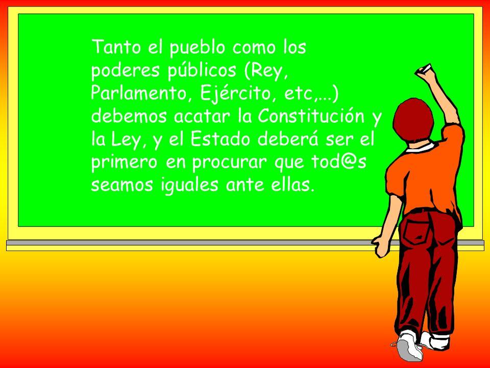 LOS SINDICATOS También los sindicatos deben acatar la Constitución y la Ley. Los sindicatos los forman l@s trabajador@s para defender cosas tan import