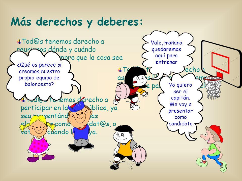 Estos son nuestros derechos y deberes más importantes como españoles: Cualquiera que nazca como español, tiene derecho a serlo durante toda su vida. D
