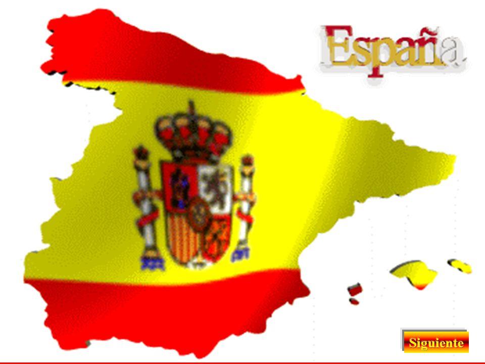 CAPITAL DE ESPAÑA IDIOMA O LENGUA BANDERA ESCUDO HIMNO NUESTRA PATRIA Este Estado tiene en España forma de MONARQUÍA PARLAMENTARIA y al frente de él e