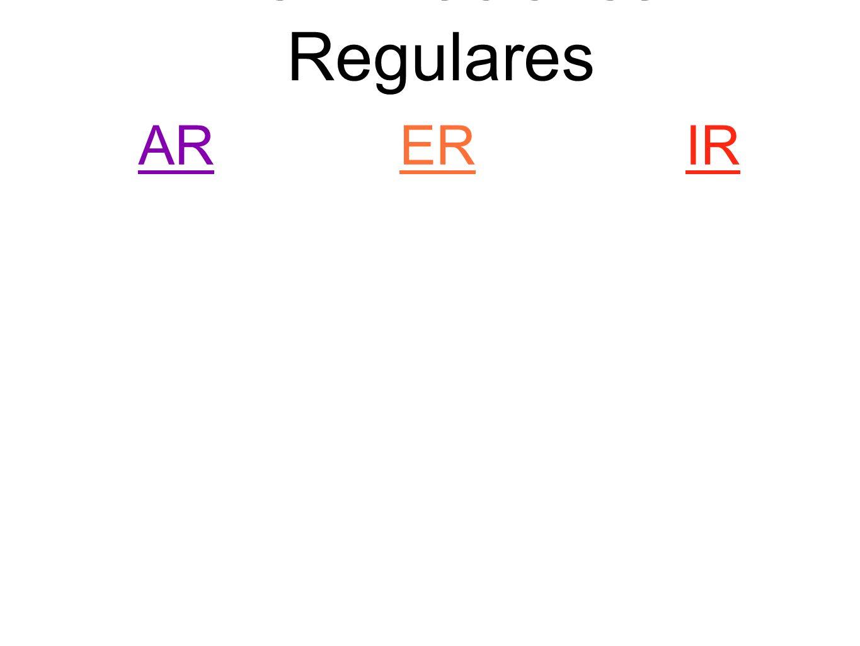 Categoría #1 Verbos que cambian en la radical