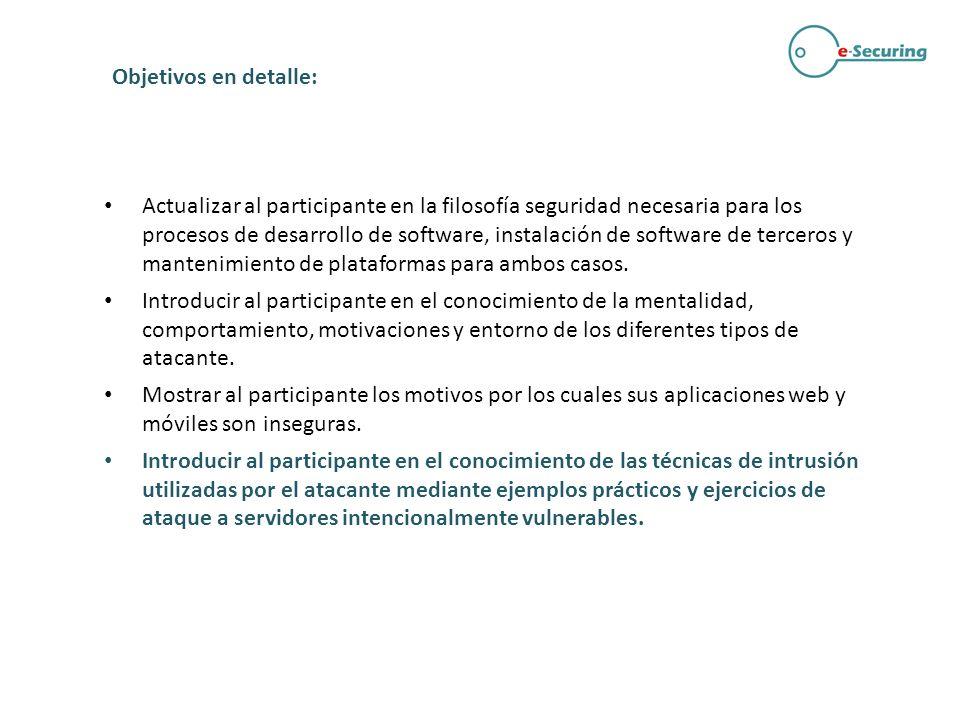 Capítulo especial: Seguridad de Aplicaciones móviles Nuevos entornos, nuevas amenazas.