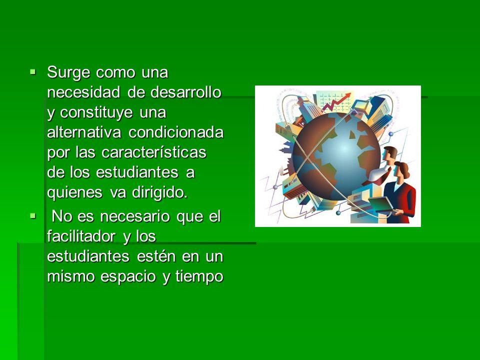 ¿Qué es la educación distribuida? Es una estrategia educativa basada en la aplicación de la tecnología del aprendizaje sin las limitaciones de lugar,