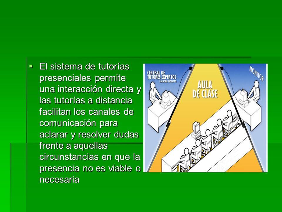 En esta modalidad las funciones del tutor son: motivar y promover el interés de los participantes en el estudio de las temáticas propuestas, guiar y/o