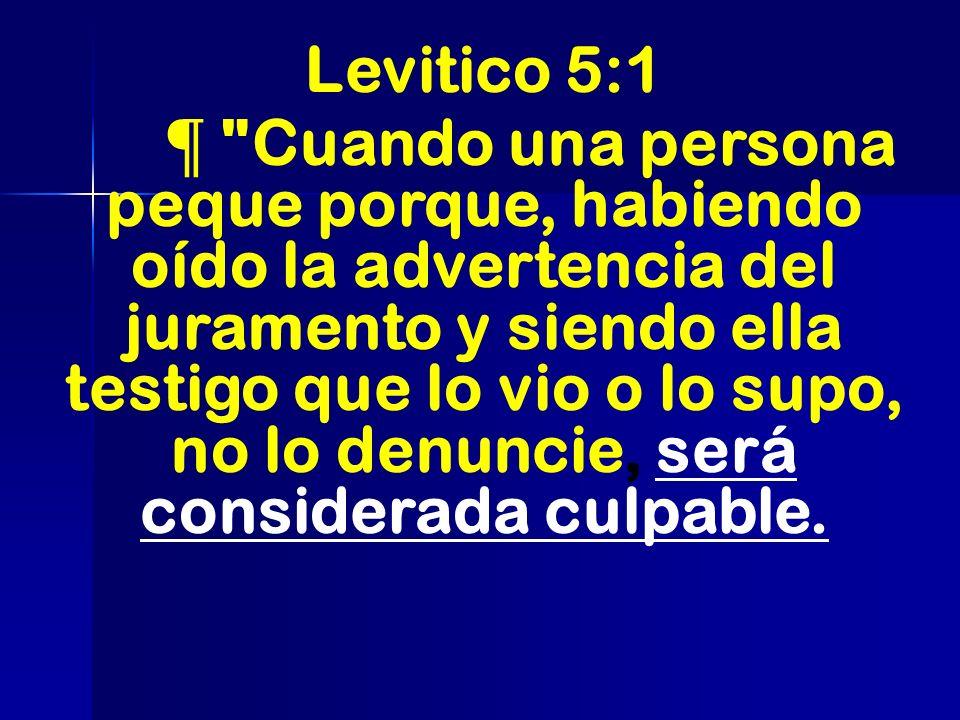 Levitico 5:1 ¶