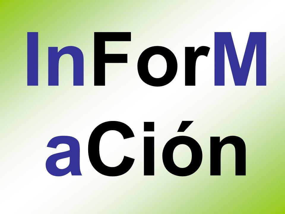 InForM aCión