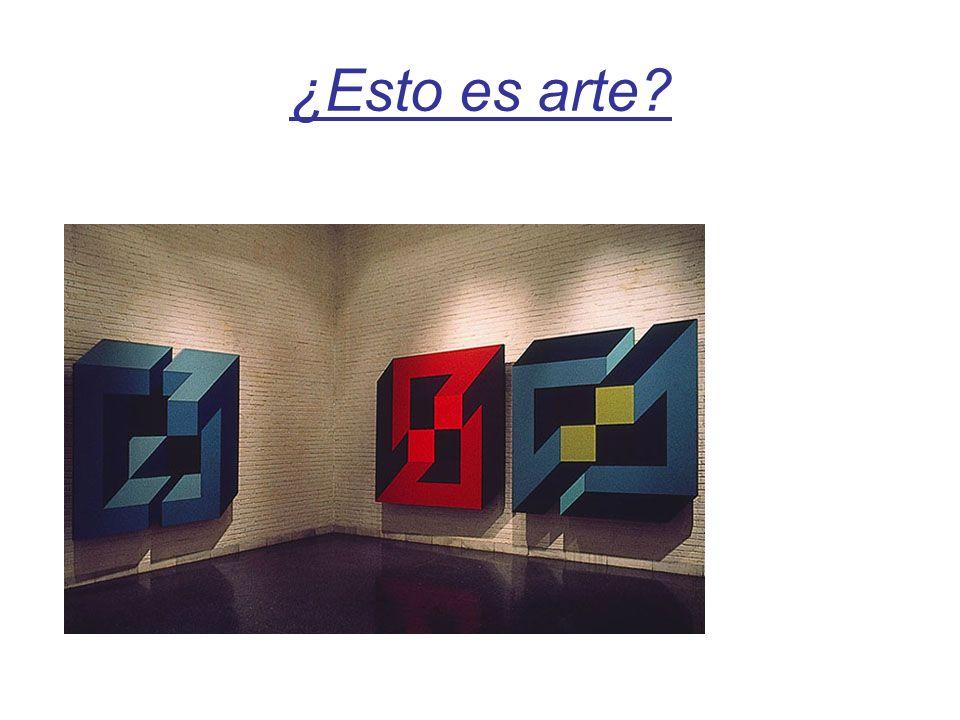 ¿Esto es arte?