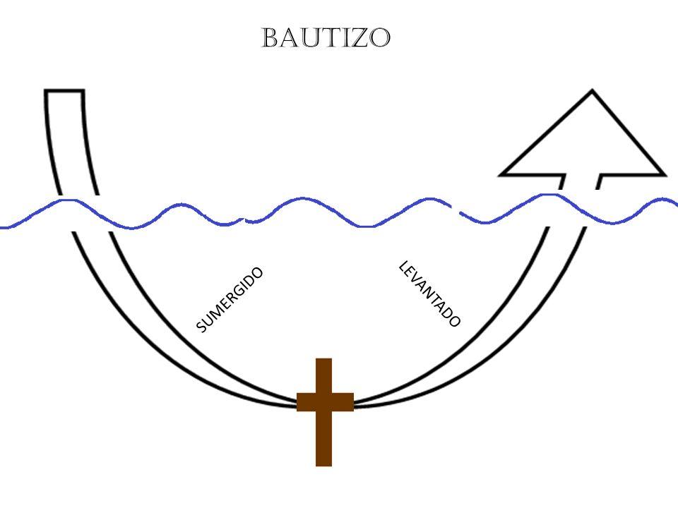BAUTIZO SUMERGIDO LEVANTADO
