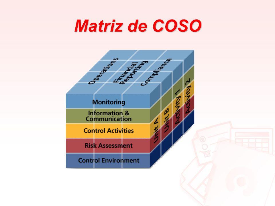 Matriz de COSO