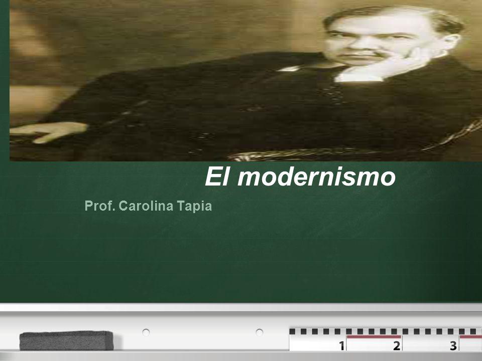 Your logo El modernismo Prof. Carolina Tapia
