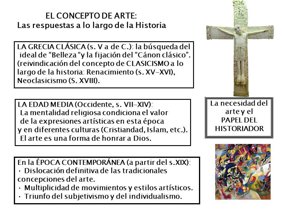 LA CONSIDERACIÓN SOCIAL DEL ARTISTA (evolución a lo largo de la historia) La labor artística era considerada, tanto en la Antigüedad como en la Edad Media como una ACTIVIDAD ARTESANAL, sus autores carecían de relevancia social.