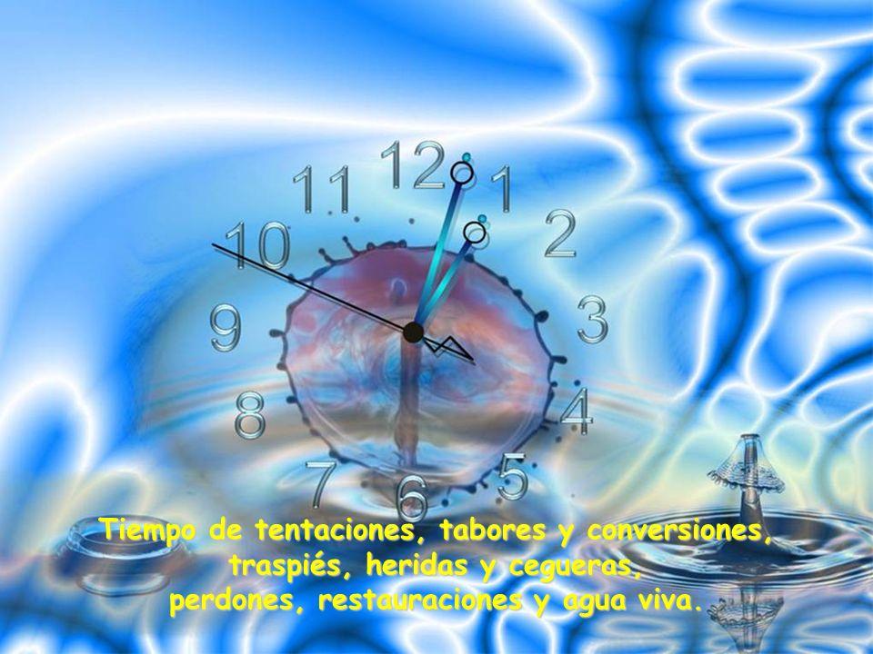 Tiempo de humanidad rota y dividida que anhela el paraíso o la tierra prometida.