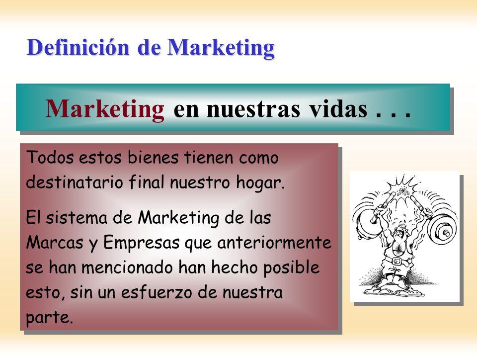 Definición de Mercado Mercado....