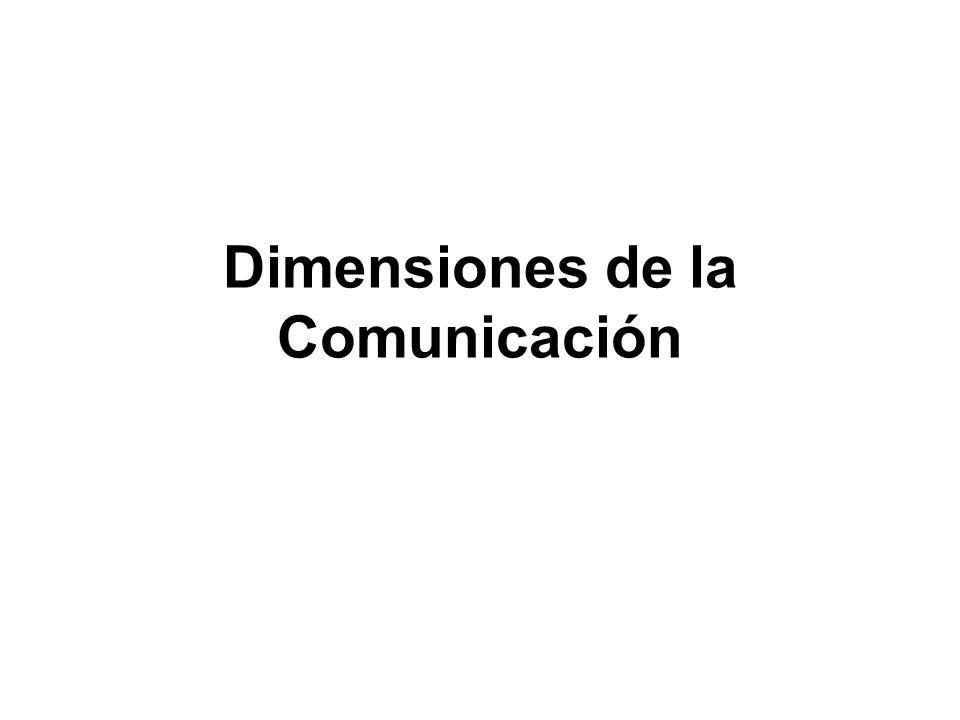 Comunicación interpersonal Presente: Doble dirección, próxima y cara a cara, donde emisor y receptor intercambian alternativamente sus roles: es el diálogo, la interacción directa en tiempo real.
