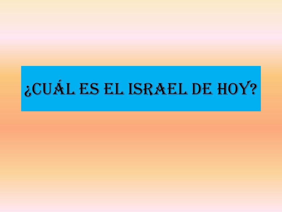 ¿Cuál es el Israel de Hoy?