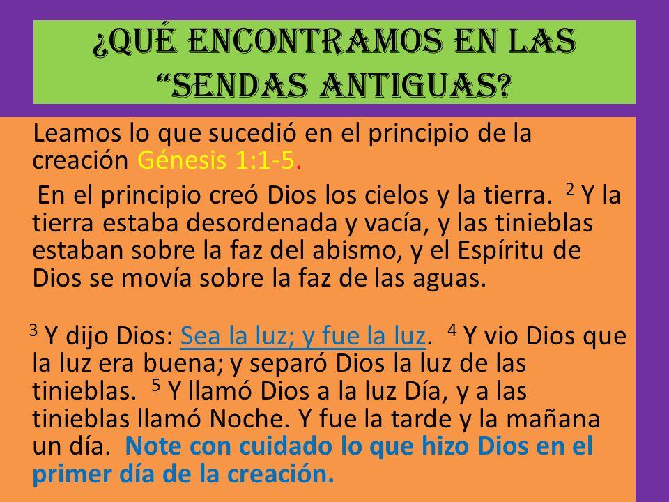 La Biblia dice que Dios nunca se contradice diciendo una cosa en el A.