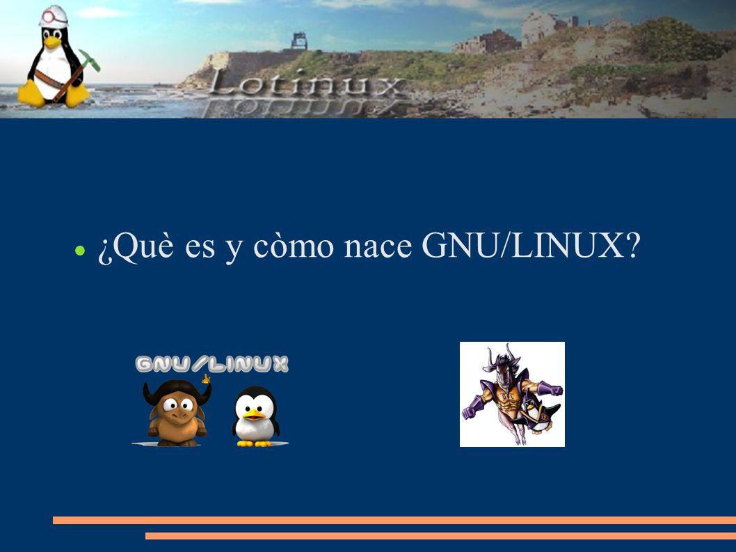 ¿Què es y còmo nace GNU/LINUX?