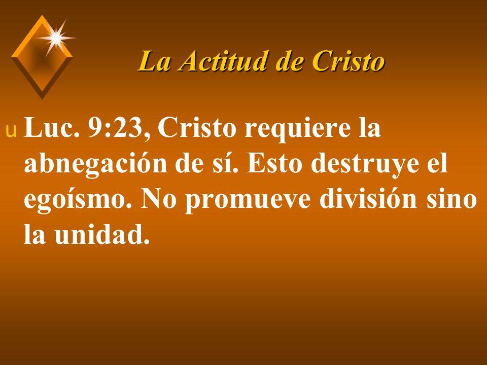 La Actitud de Cristo u Rom.