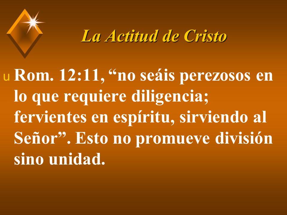 La Actitud de Cristo u 1 Cor.