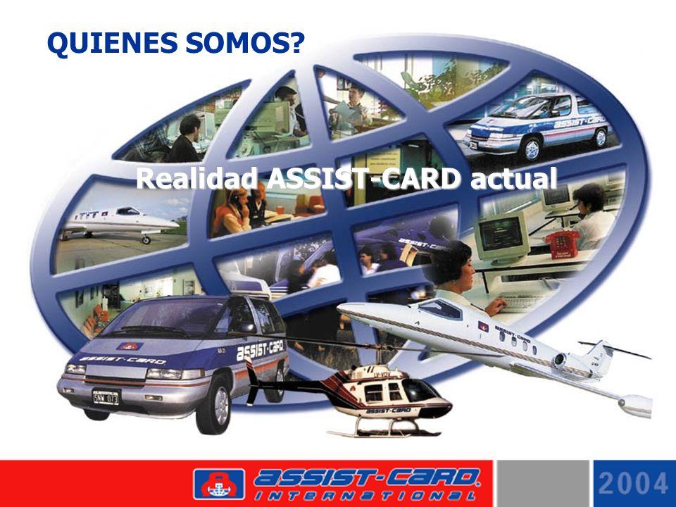 QUIENES SOMOS? Realidad ASSIST-CARD actual