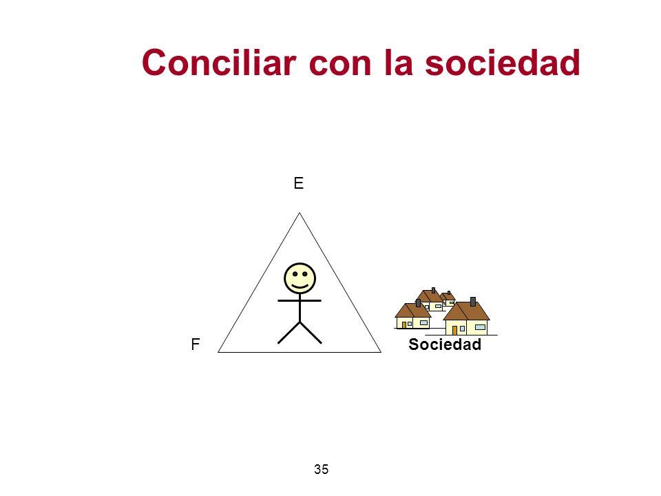 35 Conciliar con la sociedad E FSociedad