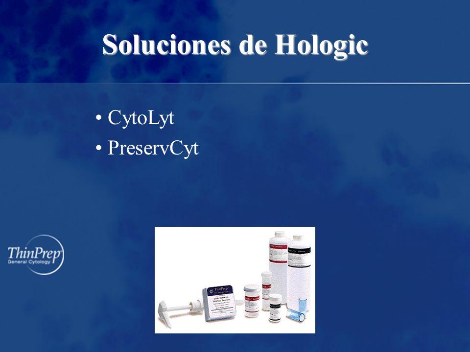 CytoLyt PreservCyt Soluciones de Hologic