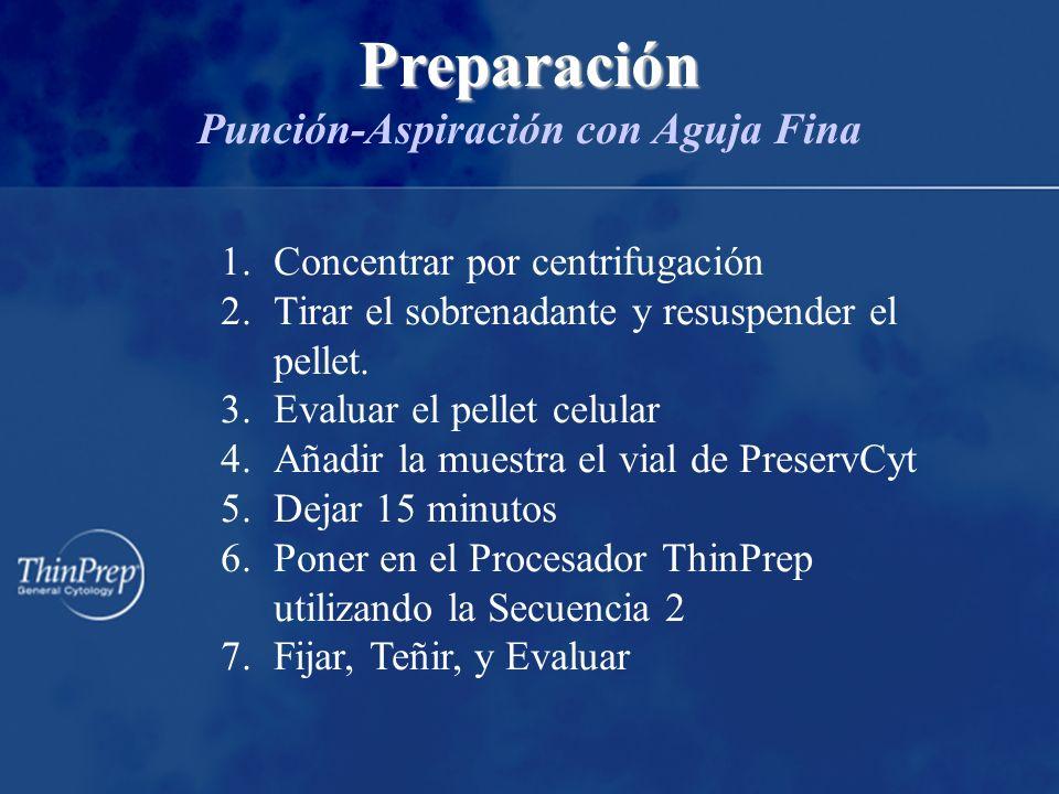 1.Concentrar por centrifugación 2.Tirar el sobrenadante y resuspender el pellet.