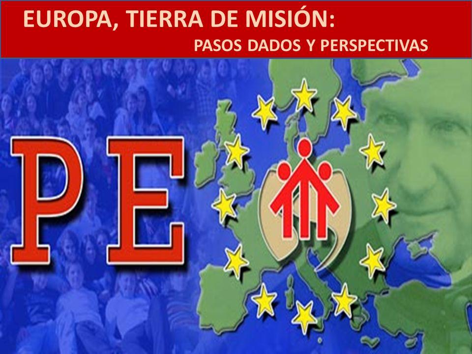 EUROPA, TIERRA DE MISIÓN: PASOS DADOS Y PERSPECTIVAS Introducción 1.¿Qué Iglesia en la Europa del 2050.