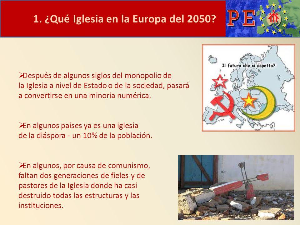 EUROPA, TIERRA DE MISIÓN: PASOS DADOS Y PERSPECTIVAS GRACIAS P.