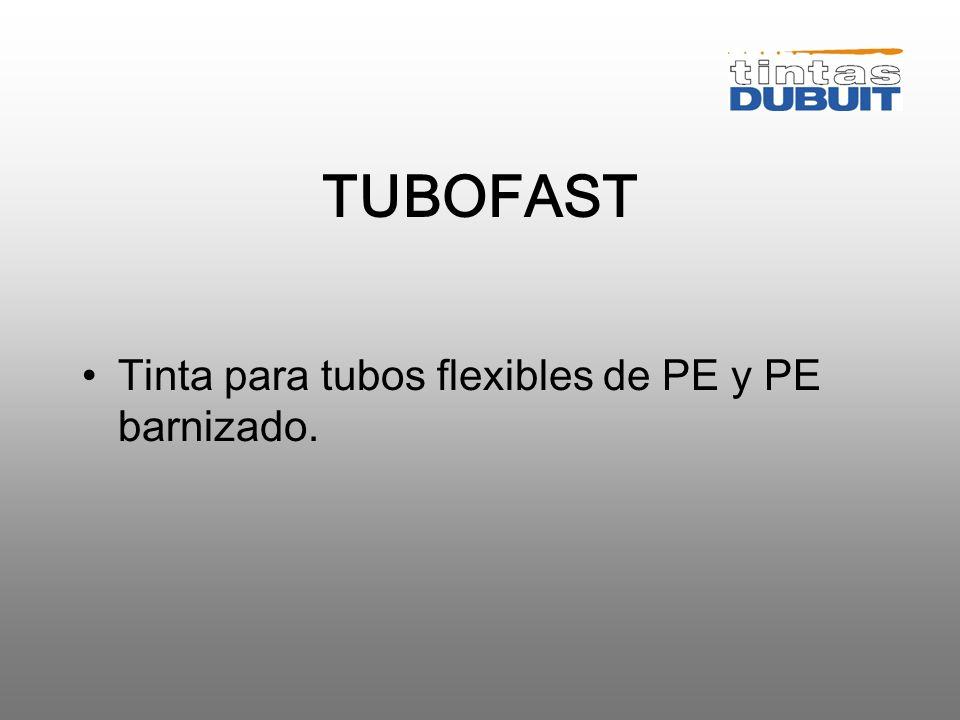VENTAJAS DESVENTAJA Alto brillo Sistema de mezcla Flexible Alta reactividad Opacidad Numerosos clientes en España Mala adherencia sobre los PETs
