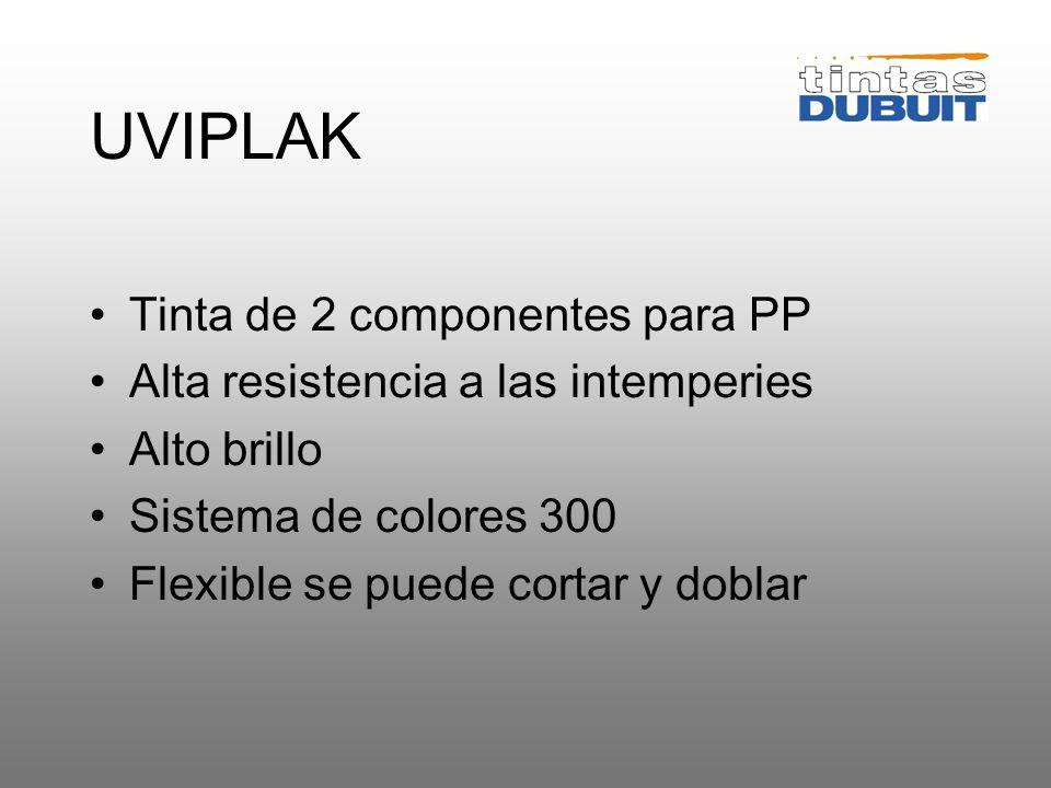 POLYFLEX Se caracteriza por su flexibilidad Destinada a aplicaciones de alta gama Sistema de mezcla 700