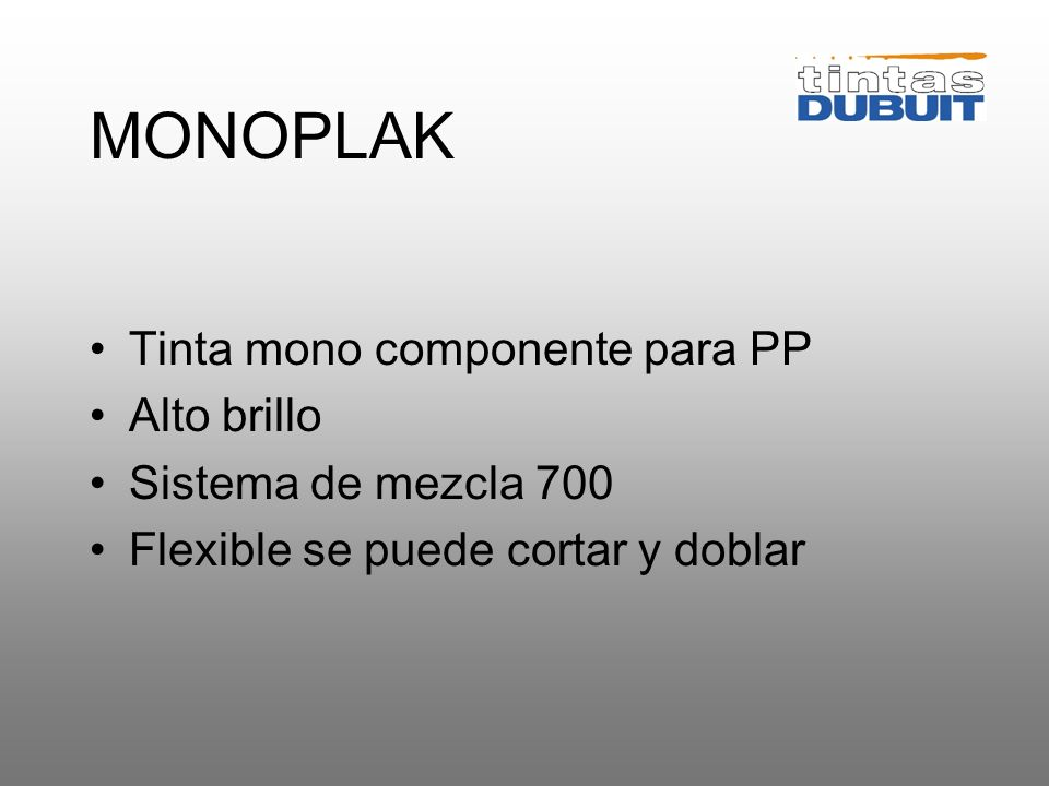 UVIPLAK Tinta de 2 componentes para PP Alta resistencia a las intemperies Alto brillo Sistema de colores 300 Flexible se puede cortar y doblar