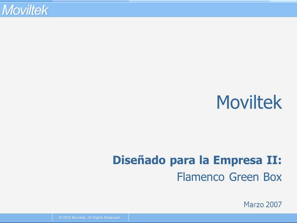 Moviltek Marzo 2007 Diseñado para la Empresa II: Flamenco Green Box