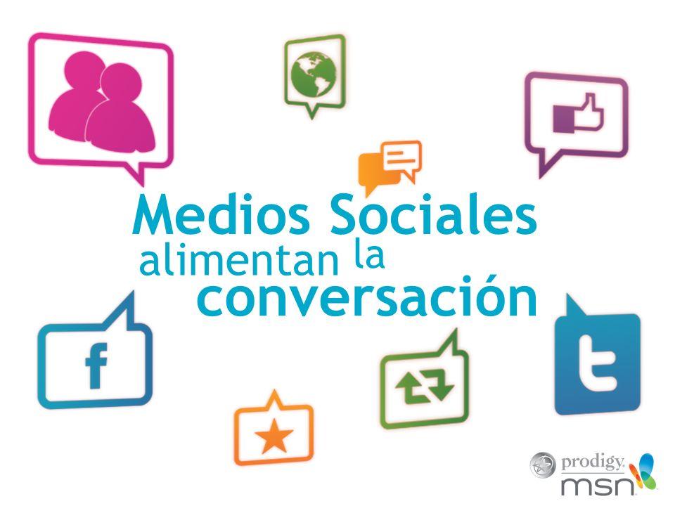 Característica # 5 del Rich Media Social: Los Hubs Sociales Reúnen acciones sociales múltiples, permitiendo que los usuarios usen corrientes sociales, videos sociales, encuestas sociales, y el impulso o momento social para comprometerse completamente con una marca.