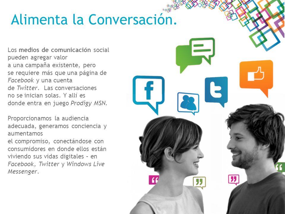La Estrategia detrás de los Medios Sociales Usando nuestra experiencia en marketing y las herramientas de medios de comunicación social para trabajar en la variedad de propiedades y ambientes a los que podemos tener acceso, no sólo se genera conciencia en el consumidor, sino que lleva a un nuevo nivel el compromiso del consumidor.