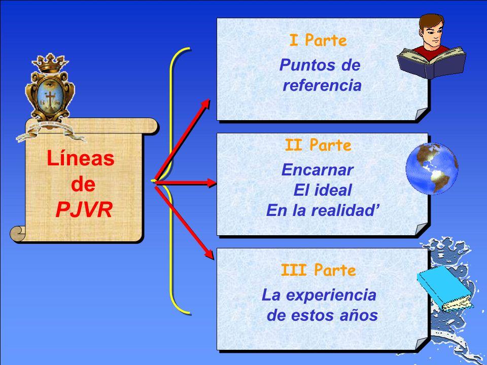 Líneas de PJVR Premisa La Pastoral Juvenil es el lugar adecuado para descubrir el sentido de la vida y de la propia vocación Premisa La Pastoral Juven