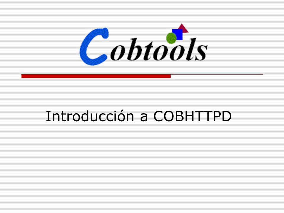 Introducción a COBHTTPD