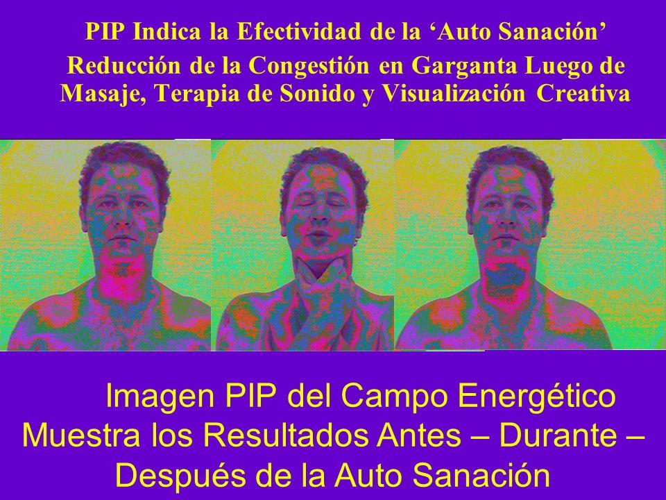 PIP Indica la Efectividad de la Auto Sanación Reducción de la Congestión en Garganta Luego de Masaje, Terapia de Sonido y Visualización Creativa Image
