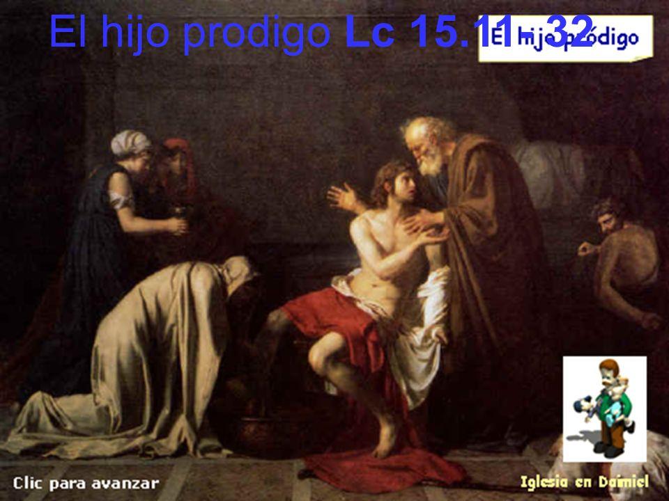 El hijo prodigo Lc 15.11- 32