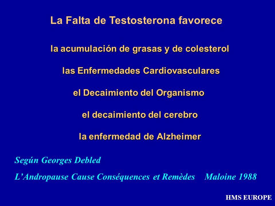 la acumulación de grasas y de colesterol las Enfermedades Cardiovasculares el Decaimiento del Organismo el decaimiento del cerebro la enfermedad de Al