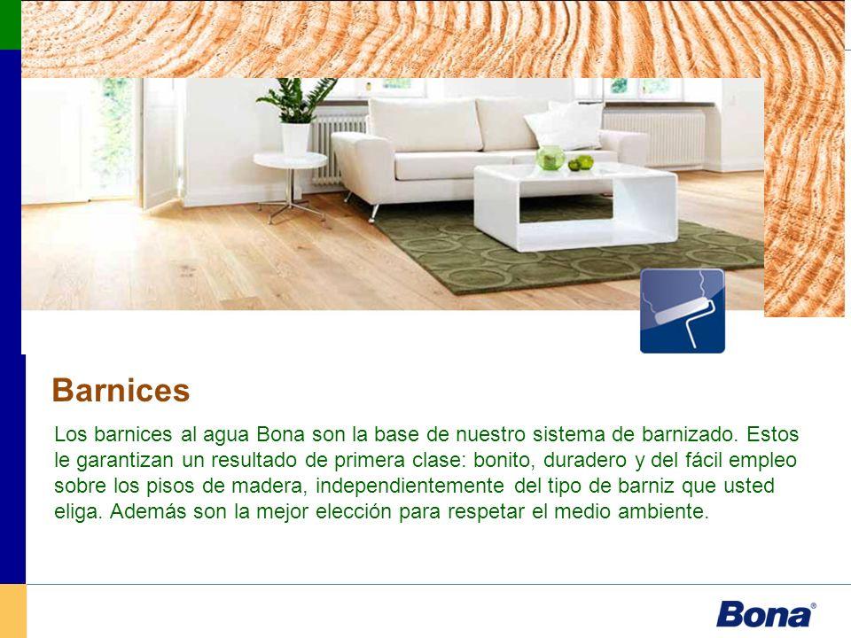 Barnices Diseño Protección duradera Bona Naturale ofrece un grado de protección comparable a los mejores selladores Bona.