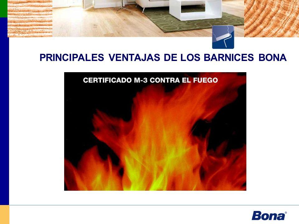 PRINCIPALES VENTAJAS DE LOS BARNICES BONA