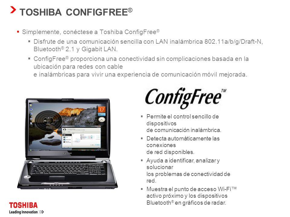 ANTENA MÚLTIPLE TOSHIBA ¿Qué es la antena múltiple? Esta innovación de Toshiba en realidad está formada por tres antenas. Ahora, algunos equipos portá