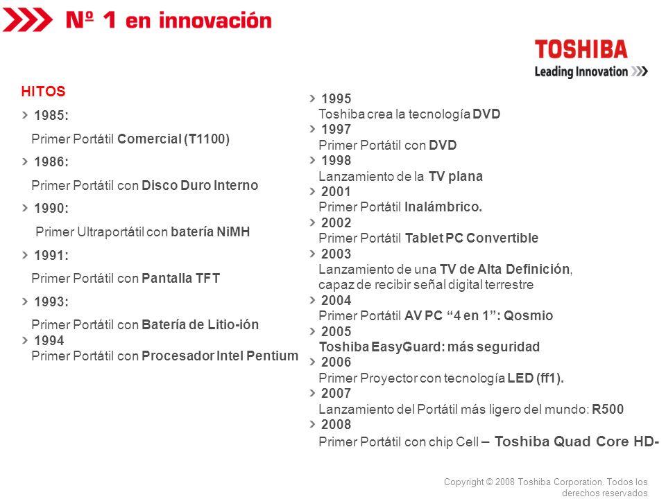 PROCESADOR HD DE CUÁDRUPLE NÚCLEO – CARACTERÍSTICAS DE SOFTWARE Conversión Convierte vídeo de definición estándar (SD) en vídeo más nítido y claro en alta definición (HD) utilizando el algoritmo de conversión desarrollado por Toshiba.