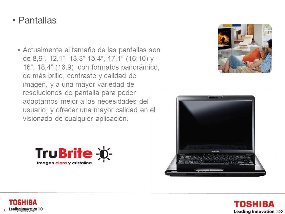 GAMA SATELLITE L300 15,4 Reconocimiento Facial Toshiba Webcam con microfono intergrado Altavoces estéreo Diseño compacto con las maximas prestaciones Color gris marengo Pantalla Trubrite Seguro de rotura pantalla de 1 año