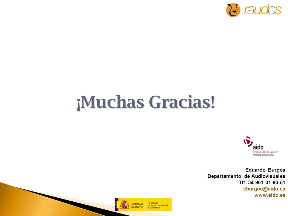 ¡Muchas Gracias.