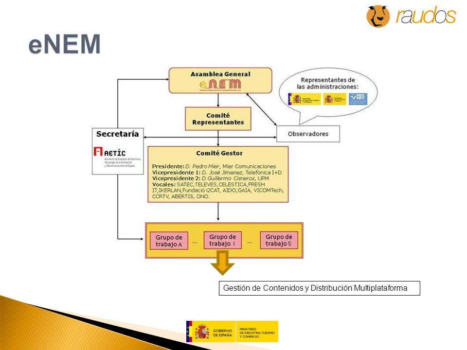 Gestión de Contenidos y Distribución Multiplataforma
