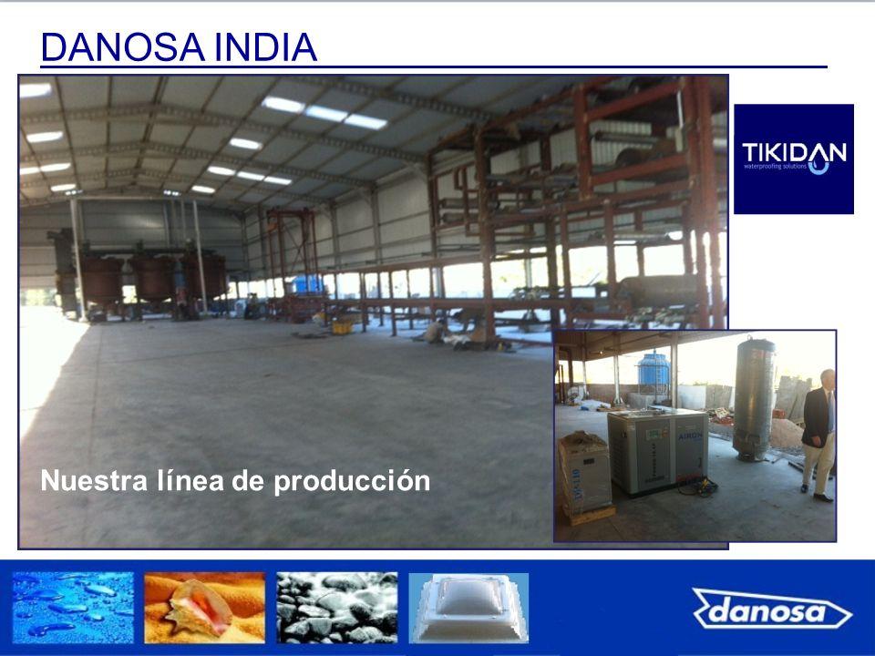 DANOSA INDIA Nuestra línea de producción